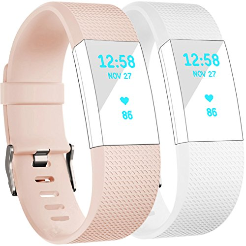 Fitbit Charge Bands Blush White