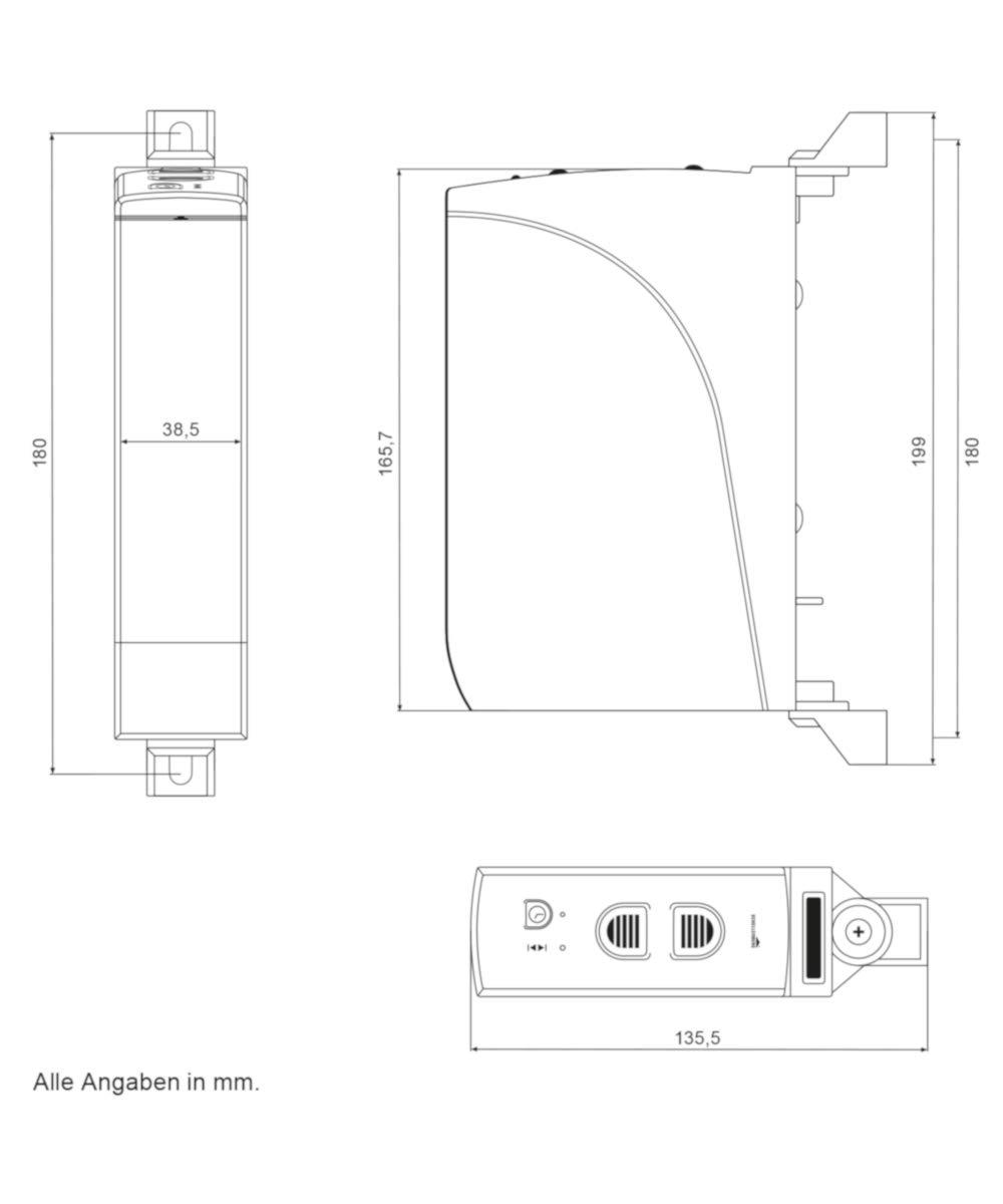 60 kg // mit Zeitautomatik // inkl Netzstecker Schellenberg 22710 elektrischer Gurtwickler RolloDrive 105 Standard wei/ß // Unterputz Rolladenantrieb f/ür 23 mm Rolladen-Gurt Zugkraft max