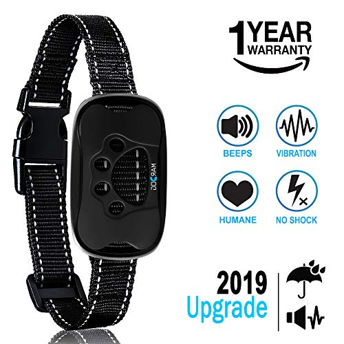 MARDOG No Bark Collar for Small, Medium, Large Dogs – Upgrade 2018 – Stop Barking Collar with Vibration and Sound – Humane and Safe for Dogs and 100% Waterproof
