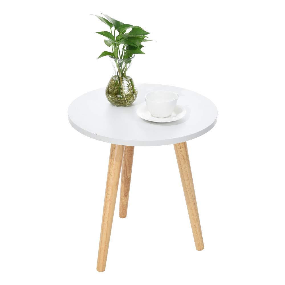 Karymi Home Desk, Nordic Style Minimalist Modern Garden Coffee Computure KitchenTable (Small)