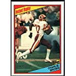 Football NFL 1984 Topps #378 Charlie Brown IR Redskins
