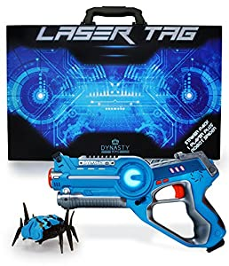 Amazon Com Dynasty Toys Laser Tag Blaster And Robot Nano
