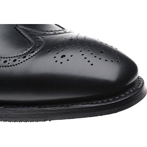 Herring Herring Gladstone Ii (Rubber), Scarpe stringate uomo nero Black Calf, nero (Black Calf), 44.5 EU