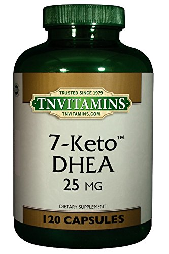 7-Keto DHEA 25 Mg Softgels - 120 Softgels