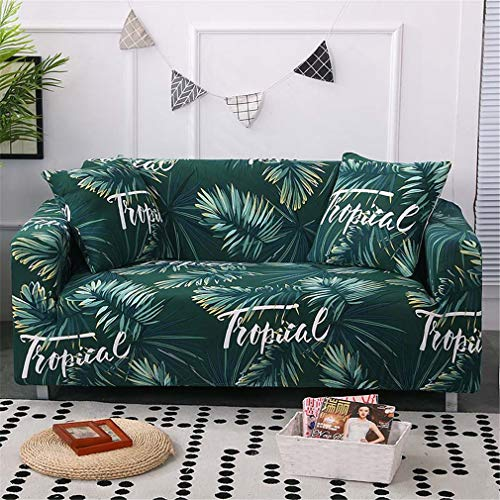 RETAINS All-Inclusive Sofa Cover Printing Anti-Dirty Sectional Couch Cover Corner Slipcovers Capa De Sofa 1/2/3/4-Seater Color 24 4-Seater 235-300cm