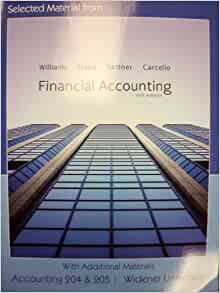 financial accounting williams 15th edition pdf