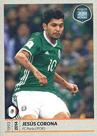 1d0d6c1da 2017 Panini Road to 2018 FIFA World Cup Russia  427 Jesus Corona Mexico  Soccer Sticker