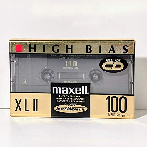 - Maxell High Bias XLII 100 Minutes Blank Audio Cassette Tape (100 Minutes)