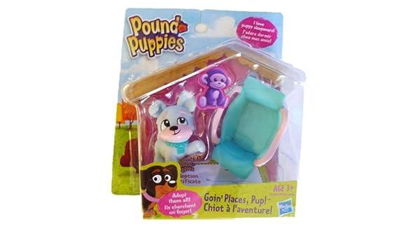 Amazoncom Pound Puppies Exclusive Mini 2 Pack Goin Places