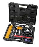 Kauplus Auto Car 25 Piece Dent Removal Dent Repair Puller Kit, Body Paintless Dent Removal Kit, Hail Damage Repair, Fix Ding PDR Dent Lifter Tool Kit