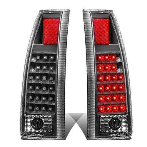 For Chevy GMC C/K Series LED Tail Brake Reverse Light Kit (Black Clear)