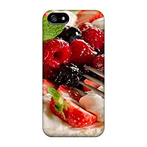 High Quality Shock Absorbing Case For Iphone 5/5s-berries On Cake
