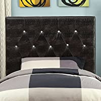 HOMES: Inside + Out ioHOMES Nile I Faux Crocodile Skin Adjustable Headboard, Twin, Brown