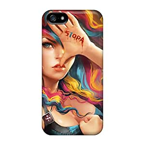 High Quality RachelMHudson Stop Sopa Skin Case Cover Specially Designed For Iphone - 5/5s
