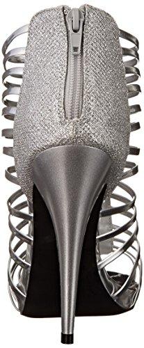 Qupid Women's Greyson 25 Dress Sandal Silver KQuc3y2