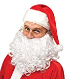 Fun World Costumes Mens Adult Instant Santa Costume