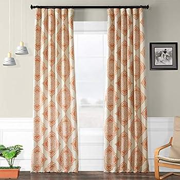 Room Darkening Lattice Print Trellis Tiles Window Grommet Drapes for Living Room 52W x 96L Inch Green//Brown 1 Panel Jaoul Irregular Geometric Checkered Curtain