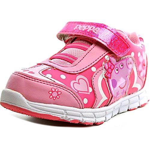 Peppa Pig Light Up Sneaker Toddler Girls Shoe Pink 5