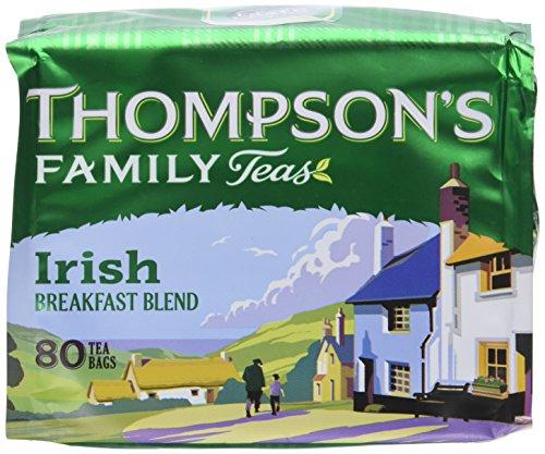 Thompson's Punjana Irish Breakfast 80 Teabags (8.82 Oz) (Pack of 2) ()