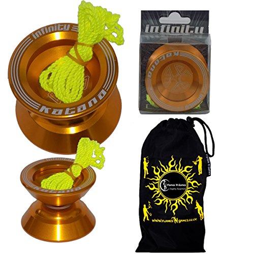 Infinity KATANA Yoyo - Bearing Axle Yo-Yo + Travel Bag!