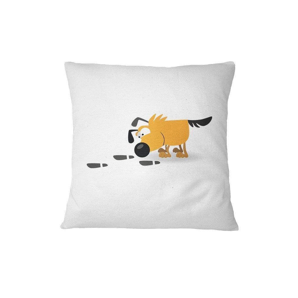Dog Smelling Steps Animals Sofa Bed Home Decor Pillow Cover Renee Juliana