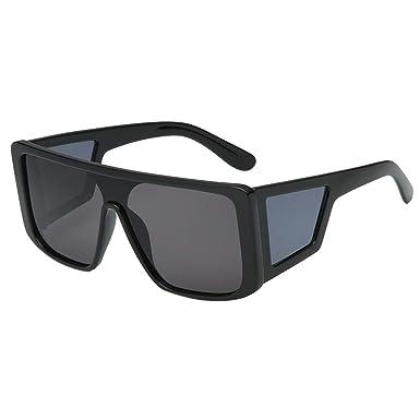 Cebbay-Gafas de Sol cuadradas Gafas de Gafas Grandes del Marco para conducción al Aire Libre, Deportes, Pesca