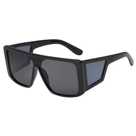 HCFKJ Personalidad De Moda, Gafas De Sol Cuadradas De Una ...
