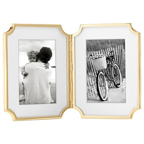 Kate Spade New York Sullivan Street Gold Hinged Double - Frame Gold Double
