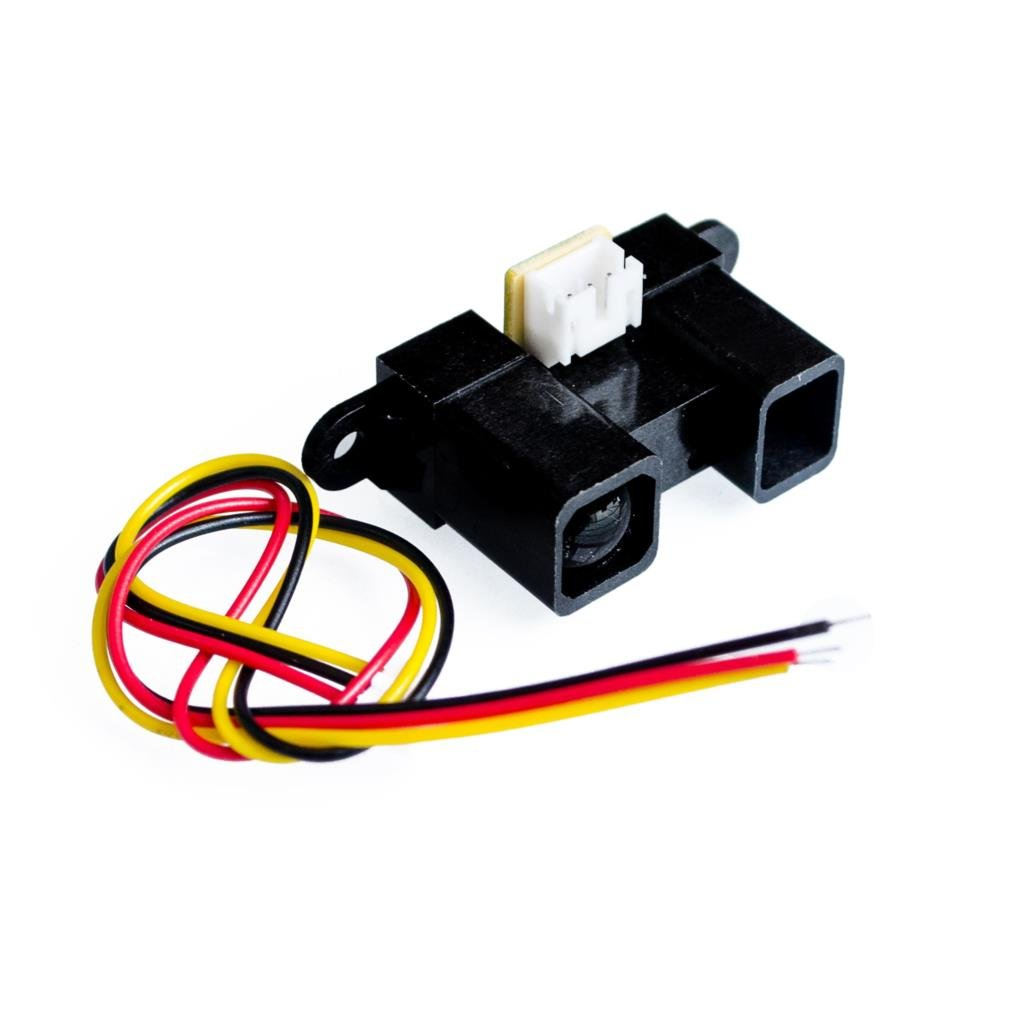 10PCS//LOT GP2Y0A21YK0F 100/% New 2Y0A21 10-80cm Infrared Distance Sensor Including Wires