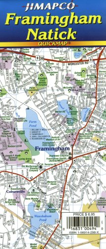 Download Framingham/Natick, MA Quickmap® pdf