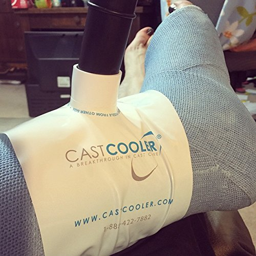 Castcooler Immediate Itch and Odor Relief for All Breathable Orthopedic Casts, One Size