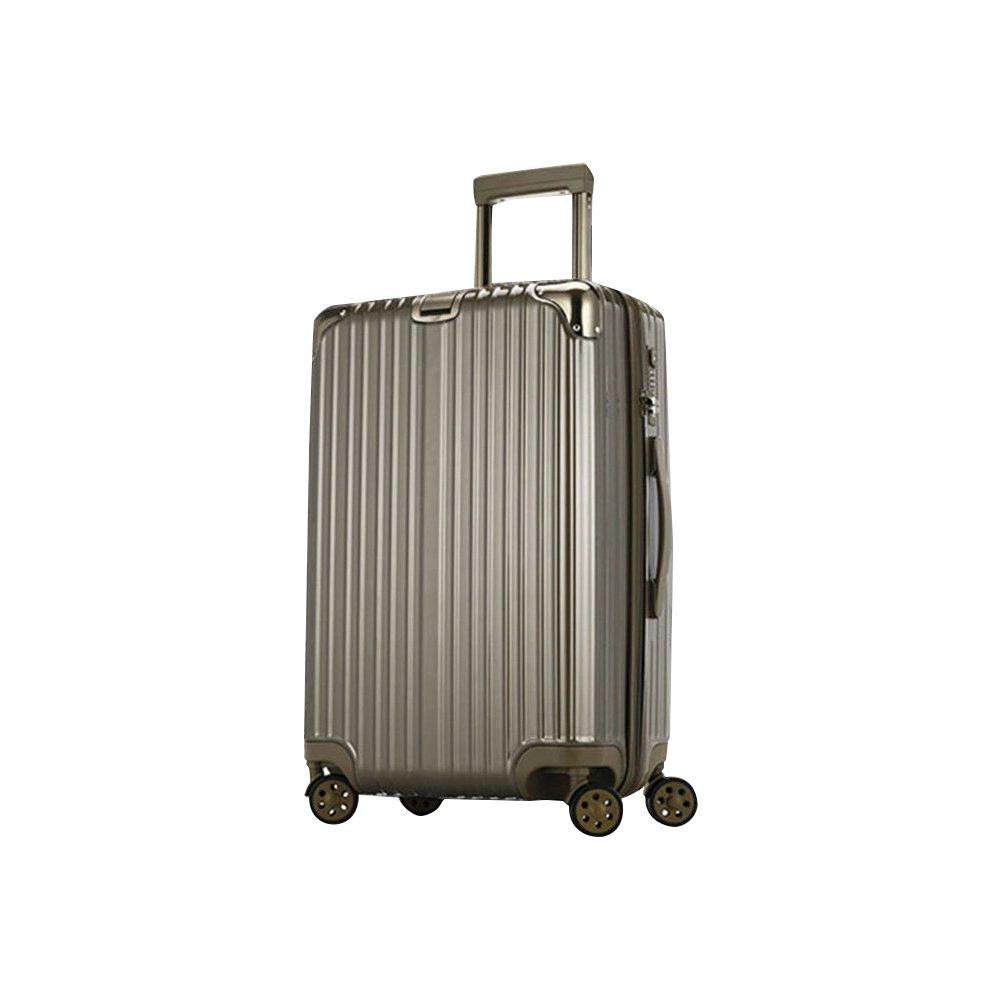 【Botung_ボトン】スーツケース 軽量 機内持ち込み 小型 中型 大型 ダブルキャスター 8輪 TSA s m l ll キャリーケース キャリーバッグ カラフルラフル B01MTUUVYB M(3~5泊58L)|ガンメタリック ガンメタリック M(3~5泊58L)