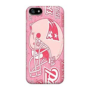 Durable Case For The Iphone 5/5s- Eco-friendly Retail Packaging(new England Patriots)