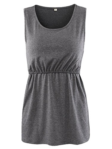 BBHoping 2 Layers Maternity Nursing Comfy Tank Tops Sleeveless Comfy Breastfeeding Clothes by BBHoping (Image #6)