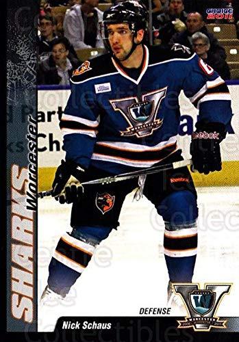 (CI) Nick Schaus Hockey Card 2010-11 Worcester Sharks 15 Nick Schaus ()