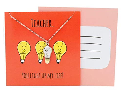 Amazoncom Quan Jewelry Funny Teachers Appreciation Gifts For Women