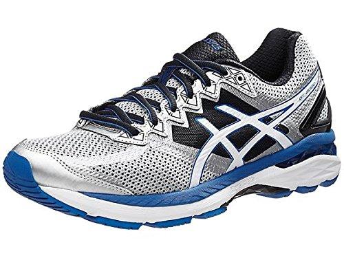 4 Running Shoe, Silver/White/Royal, 7 4E US ()
