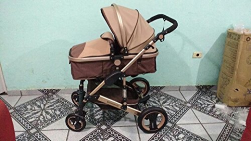 0--36 months baby stroller 2 in 1 stroller lie or damping folding light weight Two-way use four seasons (1) by wisesonle (Image #6)