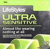 LifeStyles Premium Lubricated Latex Condoms Ultra Sensitive