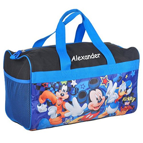 Kids Personalized Luggage - Personalized Licensed Kids Travel Duffel Bag - 18