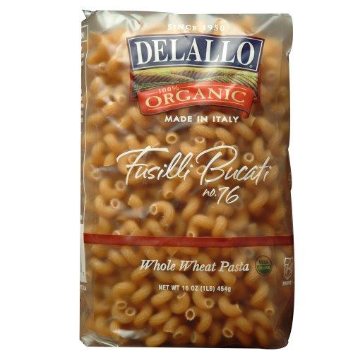 Organic Whole Wheat Fusilli Bucati #76, 16-Ounce Units (Pack of 16) ()