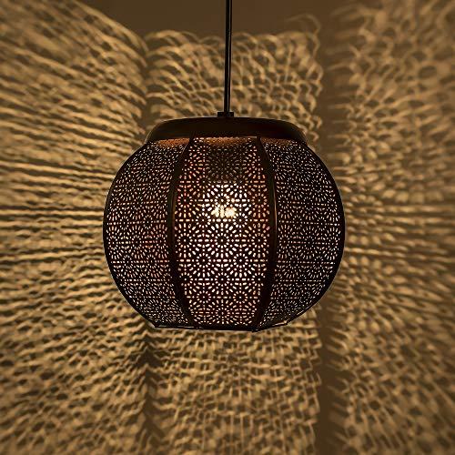 Homesake® Classic Fancy Moroccan, Hanging Pendant Light | Ceiling Decorative Chandelier Light Lamp for Home, Living Room…