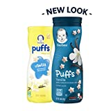 Gerber Puffs Cereal Snack, Vanilla, 1.48 Ounce
