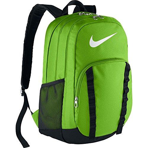 Nike Brasilia 7 Backpack (Extra-Large) (Action (Action Black And White)
