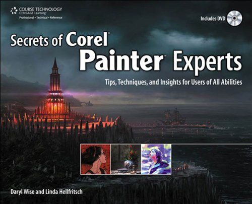 Secrets of Corel Painter Experts: Tips, Techniques,, used for sale  Delivered anywhere in USA