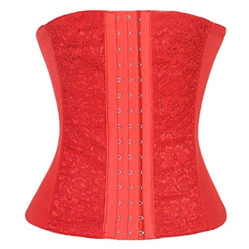 SoLove Underbust Steel Boned Waist Trainer Bodyshaper Corset Vest For Women