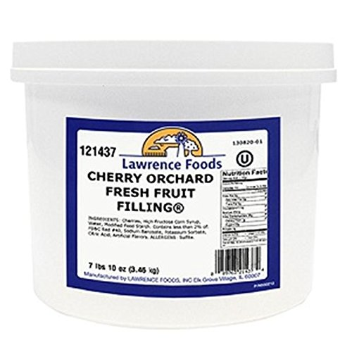 Lawrence Foods Deluxe Cherry Filling, 7 lb 10 oz., 4 per case