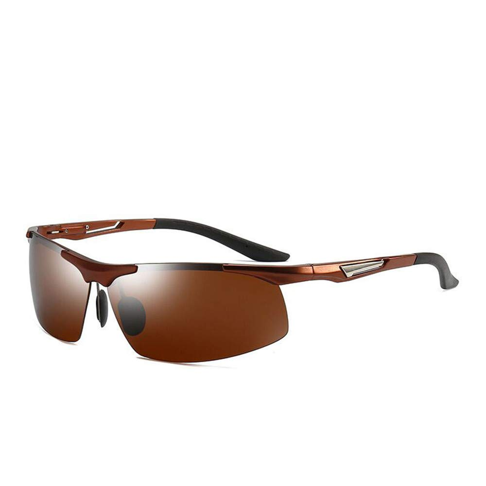 Coffee Cycling Glasses Polarized Sports Sunglasses Men's UV Predection Bicycle Glasses Ladies Outdoor Running Eye Predection Safe Travel Sports Sunglasses (color   Silver)