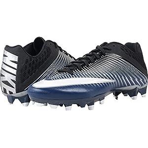 Nike Vapor Speed 2 TD Football Cleats (12, Navy/Metallic Silver/Black/White)