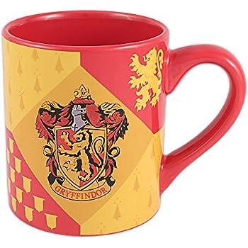 Silver Buffalo HP7332 Harry Potter Gryffindor House Crest Ceramic Mug 14 Ounces